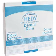 Hedy® Natural Rubber Latex Dental Dam