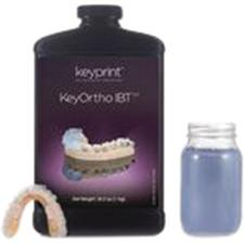 KeyOrtho IBT 3D Resin Material, 1 kg Bottle