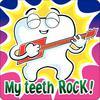 """Dental Stickers, 2-1/2"""" W x 2-1/2"""" H, 100/Pkg"""